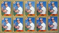 Cal Ripken Baltimore Orioles 1987 Topps #784 10ct Card Lot