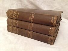 Agnes Macdonell - Quaker Cousins - 1st 1879, Rare Victorian Novel, Three Volumes