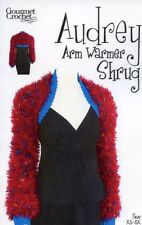 Audrey Arm Warmer Shrug Gourmet Crochet Pattern NEW - 30 Days To Pay SZ XS-5X