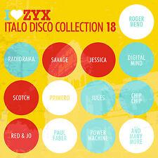 CD ZYX Italo Disco Collection 18 von Various Artists
