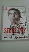 More details for noel fielding & serge pizzorno exclusive signed stoke city football programme