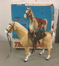 MARX Johnny West Thunderbolt Horse w/Accessories 2061 Orig Box