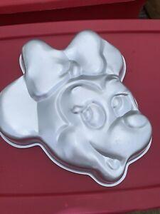 Rare Vintage Disney Wilton Minnie Mouse Head Cake Pan