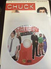 Chuck - Season 1, Disc 4 REPLACEMENT DISC (not full season)