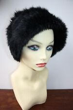 Joseph Gorgeous Knitted Rabbit Fur Hat in Excellent Condition
