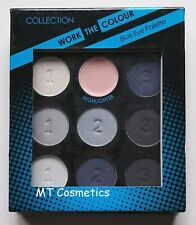 Collection Work The Colour Eye Shadow Blue Eye Palette