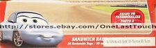 **Disney CARS~20 Reclosable SANDWICH BAGS~Sally Carerra~Gr8 4 School Lunch! 2/3