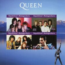 More details for madagascar music stamps 2021 mnh queen freddie mercury singers people 4v impf ms