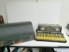 Angelo Moressi Accordion-120 Button-Made In Italy-Accordion w/Hard Shell Case