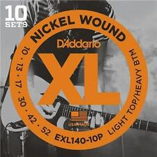 D'Addario EXL140 Pro Pack Electric Guitar Strings10-52.10 Sets At A Huge Saving!