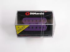 DiMarzio F-spaced Titan Bridge Humbucker Purple W/Black Poles DP 259