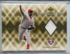 2002 Upper Deck Robert Person Game Used  Jersey 22/100 SCARCE Only One On Ebay