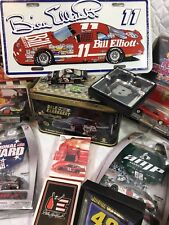 Vintage Lot Of 16 Nascar Items Elliot, Earnhardt, Jarrett, Harvick, Johnson, ETC