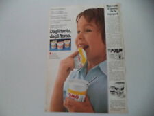advertising Pubblicità 1975 YOGURT YOMO