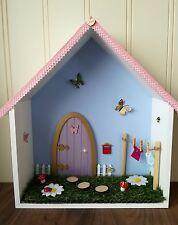 SHELF FAIRY, fairy garden house shelf, door washing line can be personalised