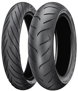 DUNLOP ROADSMART II PAIR 120/70-17 + 180/55-17 *FREE*POST* MOTORCYCLE TYRES