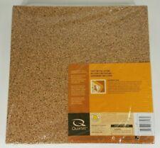 "Quartet Cork Tiles Cork Board eight 12""x12"" Corkboard Wall Bulletin School dorm"