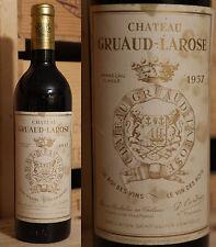 1957er Chateau Gruaud Larose - Saint Julien - Top Rarität  !!!!!!!