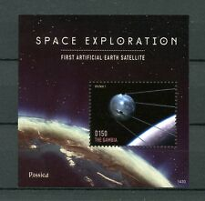The Gambia 2014 MNH Space Exploration Rossica 1v S/S Sputnik Satellites Stamps