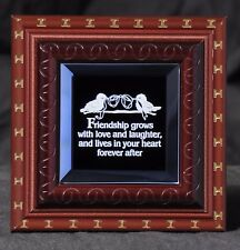 A Gift for Friends - A Keepsake Plaque for Friends