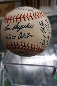 1970s Stadium promo DODGERS Team Baseball DRYSDALE ALSTON SUTTON etc