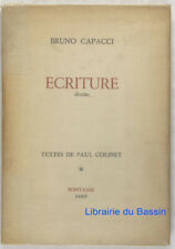 Ecriture Dessins Bruno Capacci Paul Colinet 1947 Ed. num.