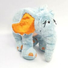 2008 MANHATTAN TOY CO Plush HORTON Elephant DR SEUSS Blue Orange Ear Hears A Who