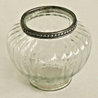 Antique Style Large Clear Glass Bulb Shape Tea Light Holder Wedding Decoration
