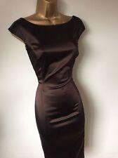 Splendido Coast Audrey Hepburn Stile Wiggle Vestito taglia 8 10 in buonissima condizione