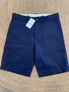 NWT J.crew Crewcuts Blue Cotton Shorts Size 8
