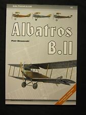 Book: Albatros B.II - 56 pages , 176 color photos, 33 b/w photos, 8 line drawing