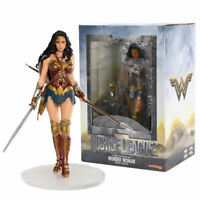 Wonder Woman Justice League Movie ArtFX + 1/10 DC Comics Action Figure Collector