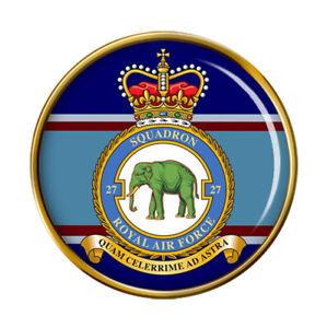 27 Escadron, Raf Broche Badge