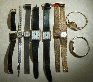Job Lot 9 Vintage Swiss Watch Imado, Mirvaine,Beren,Actim,Montine,Orgival,Gilex+