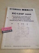Yamaha XC125F 2000 MBK XC125 F XC 125 setup manuel assemblage préparation