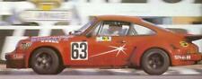 DECAL 1/43 PORSCHE 911 RSR #63 SCHULTZ LE MANS 1976 STARTER