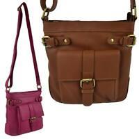Ladies Soft Leather Cross Body Shoulder BAG by Bolla Bags Classic Handbag