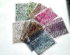 Packs of  Assorted Self Adhesive Gems and Peals from  Dawn  Bibby