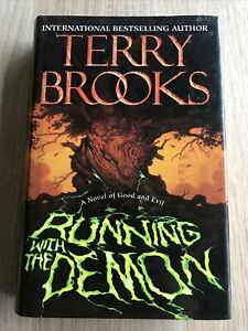 Running with the Demon by Terry Brooks - 1st Edition Hardback Book 1997 CN 1978
