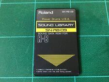 Potencia Roland SN-R8-09 tambores USA ROM Tarjeta Para ROLAND R8 R-8 MK Ⅱ Envío Gratis!!!
