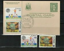 PHILIPPINES 1982 Specimens Children's Museum Library 25th Ann.Postcard Handstamp