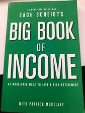 Big Book of Income by Zach Scheidt's Signed by Author Paperback