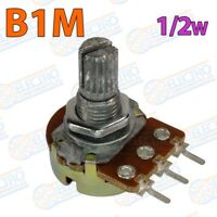 Potenciometro lineal B1M 1M 15mm 0,5w - Lote 1 unidad - Arduino Electronica DIY