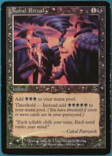 Cabal Ritual FOIL Torment HEAVILY PLD Black Common CARD (117747) ABUGames