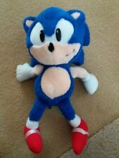 SEGA Sonic the Hedgehog 30cm plush toy / plush toy - blue used