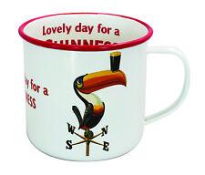 Guinness Enamel Mug Toucan on Weathervane Design -   New