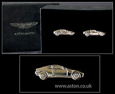 Anthony Placcato Rodio Holt originale Aston Martin db9 Argento Gemelli