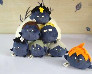 Japan Anime Haikyu Haikyuu Crow Plush Doll Plush Toy Keychain Keyring Cosplay