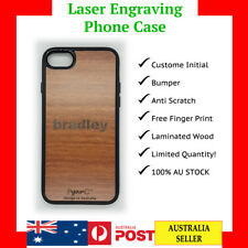 iPhone 6 6s 7 8 Plus Xs XS max XR case cover wood GIFT personalised customised