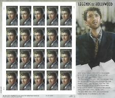 James Jimmy Stewart Legends of Hollywood 41 Cent USPS Stamp Sheet 20 Stamps 2006